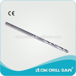 Stainless steel surgical Bone Drill bit